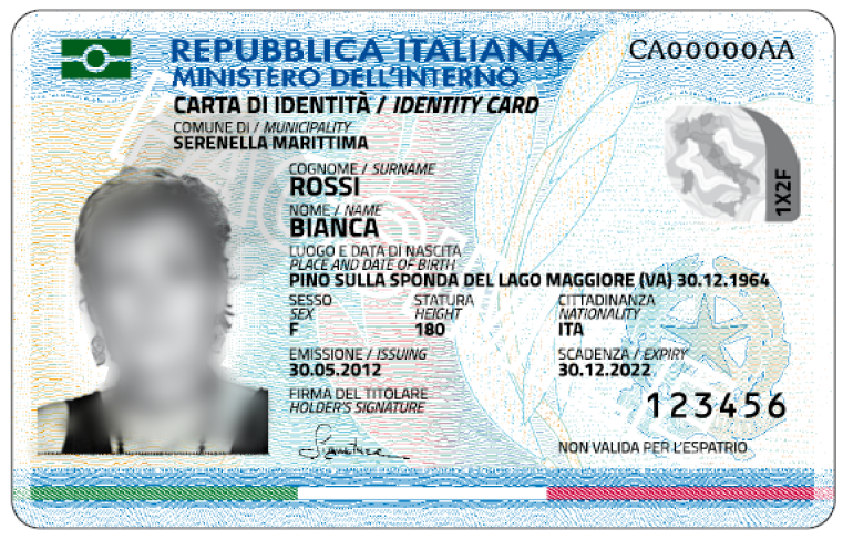 RILASCIO CARTA D\'IDENTITA\' ELETTRONICA - Comune di Barbianello